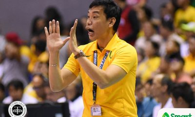 Philippine Sports News - Tiebreaker Times George Pascua rues FEU's errors: 'Mas threatened ako kapag nag-errors kayo nang sobra-sobra' FEU News UAAP Volleyball  UAAP Season 80 Women's Volleyball UAAP Season 80 George Pascua FEU Women's Volleyball