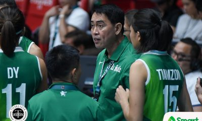 Tiebreaker Times Ramil De Jesus confirms talks with LVPI to become new National Team head coach DLSU News UAAP Volleyball  UAAP Season 80 Women's Volleyball UAAP Season 80 Ramil De Jesus LVPI DLSU Women's Volleyball 2018 Asian Games-Volleyball