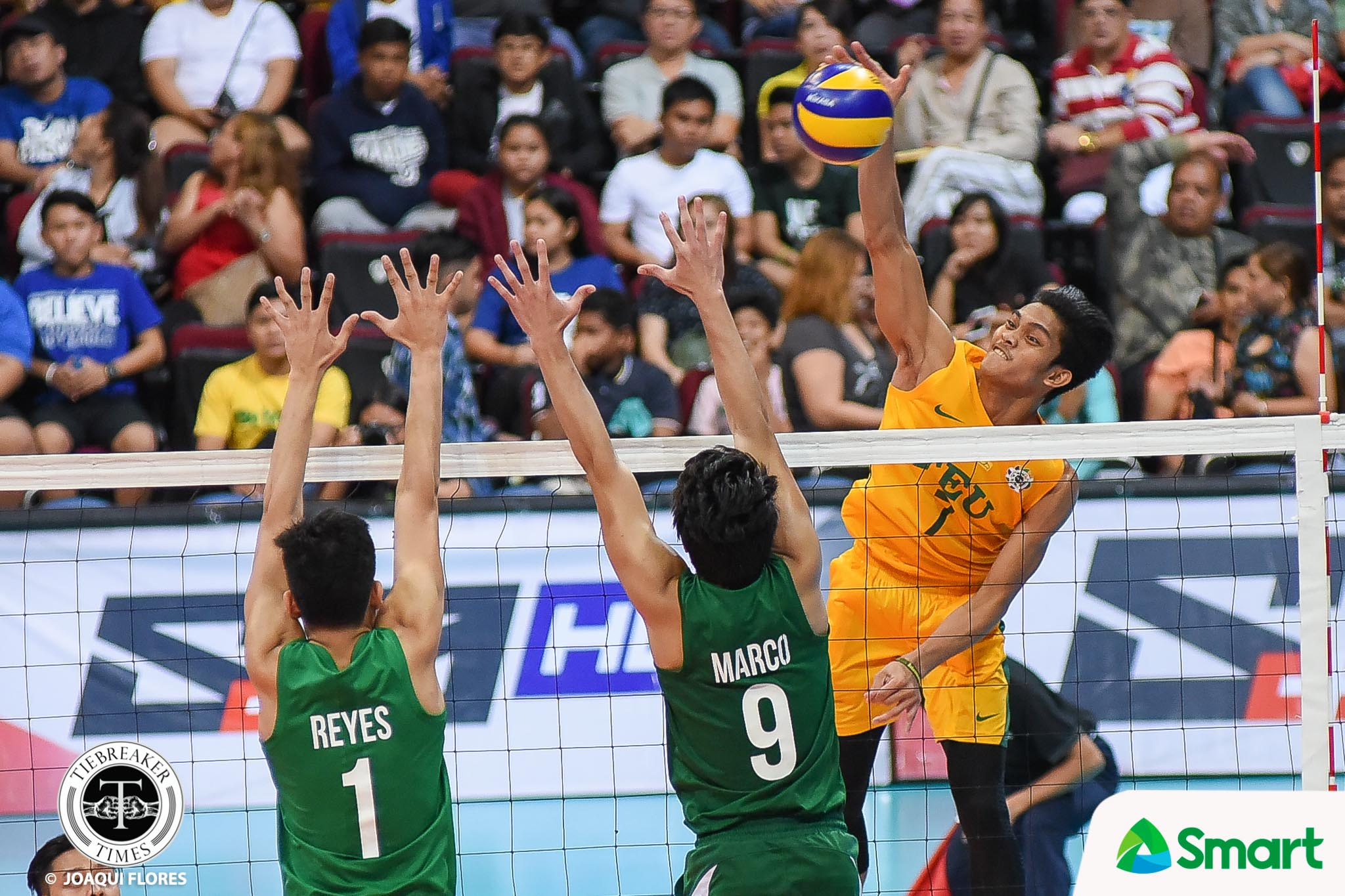 UAAP 80 Volleyball FEU vs. DLSU – Garcia-5412