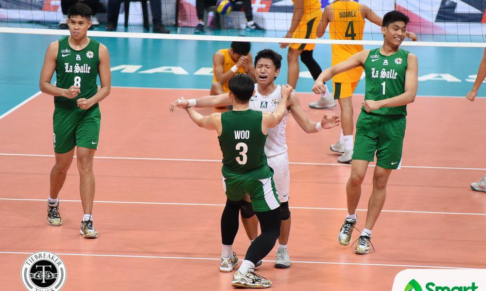 UAAP 80 Volleyball FEU vs. DLSU – Movido-5474