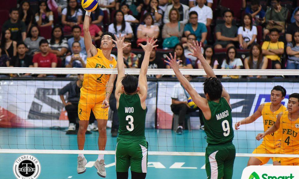 UAAP 80 Volleyball FEU vs. DLSU – Solis-5432