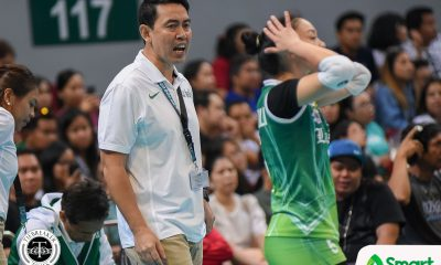 Philippine Sports News - Tiebreaker Times Ramil De Jesus thankful for Tai Bundit: 'Di mage-evolve 'yung Philippine volleyball kung wala siya' DLSU News UAAP Volleyball  UAAP Season 80 Women's Volleyball UAAP Season 80 Tai Bundit Ramil De Jesus DLSU Women's Volleyball