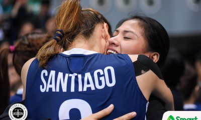 Philippine Sports News - Tiebreaker Times Jaja Santiago dedicates MVP to late grandfather News NU UAAP Volleyball  UAAP Season 80 Women's Volleyball UAAP Season 80 NU Women's Volleyball Jaja Santiago