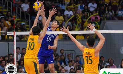 Philippine Sports News - Tiebreaker Times Marck Espejo stamps class to extend UAAP career ADMU News UAAP Volleyball  UAAP Season 80 Men's Volleyball UAAP Season 80 Oliver Almadro Marck Espejo Ateneo Men's Volleyball