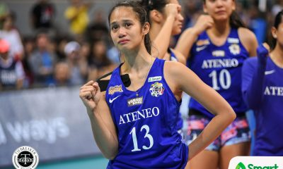 Philippine Sports News - Tiebreaker Times Jho Maraguinot to forego last playing year ADMU News UAAP Volleyball  UAAP Season 80 Women's Volleyball UAAP Season 80 Jho Maraguinot Ateneo Women's Volleyball