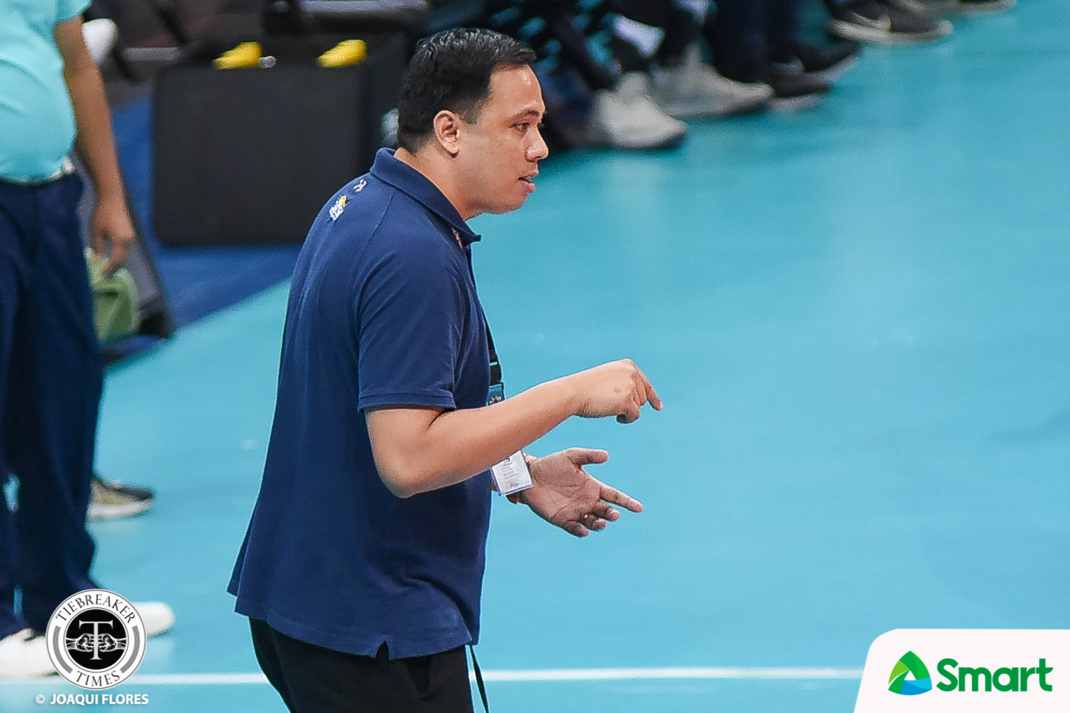 Philippine Sports News - Tiebreaker Times Dante Alinsunurin hopes solving Ateneo puzzle leads to bigger things for Bulldogs News NU UAAP Volleyball  UAAP Season 80 Men's Volleyball UAAP Season 80 NU Men's Volleyball Dante Alinsunurin