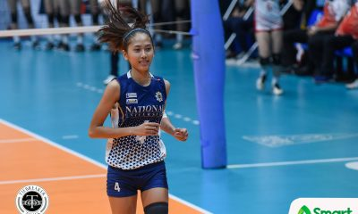 Tiebreaker Times Jasmine Nabor clarifies current situation with NU News NU Volleyball  UAAP Season 81 Women's Volleyball UAAP Season 81 NU Women's Volleyball Jasmine Nabor
