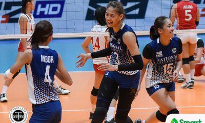 Philippine Sports News - Tiebreaker Times Jaja Santiago relieved after moving past losing streak News NU UAAP Volleyball  UAAP Season 80 Women's Volleyball UAAP Season 80 NU Women's Volleyball Jaja Santiago