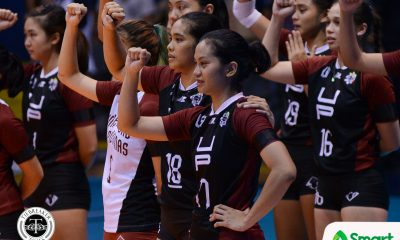 Philippine Sports News - Tiebreaker Times Ayel Estrañero uncertain for Season 81 News UAAP UP Volleyball  UP Women's Volleyball UAAP Season 80 Women's Volleyball UAAP Season 80 Godfrey Okumu Arielle Estranero