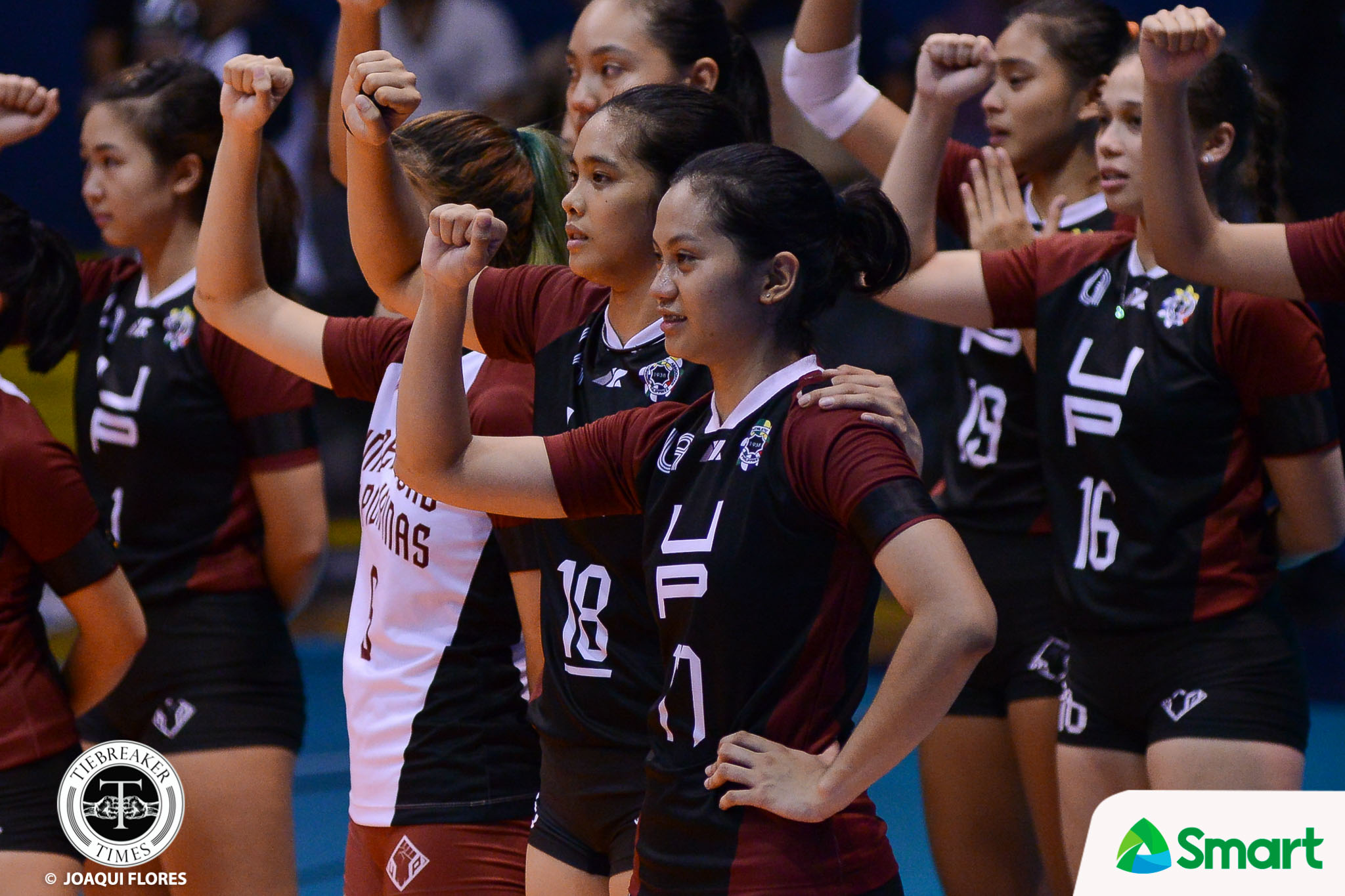 Tiebreaker Times Ayel Estrañero uncertain for Season 81 News UAAP UP Volleyball  UP Women's Volleyball UAAP Season 80 Women's Volleyball UAAP Season 80 Godfrey Okumu Arielle Estranero