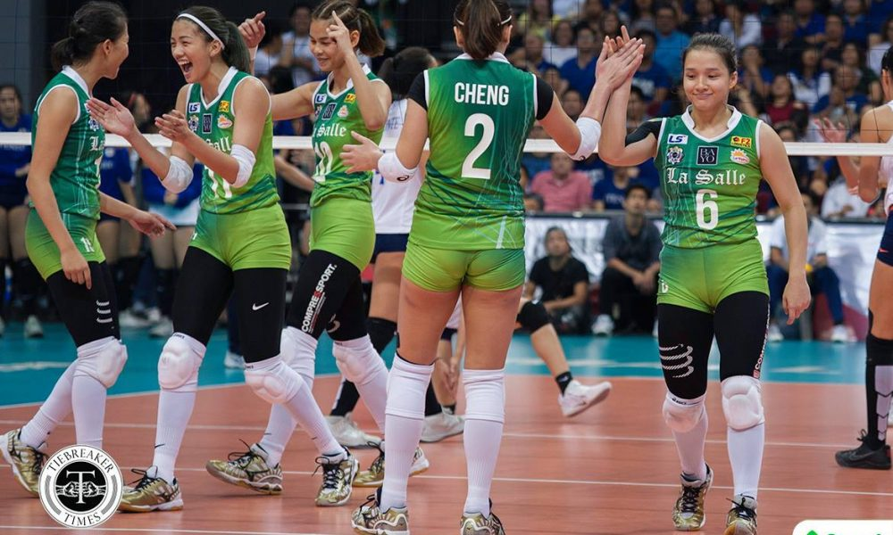 UAAP Season 80 – DLSU def ADMU – Lady Spikers
