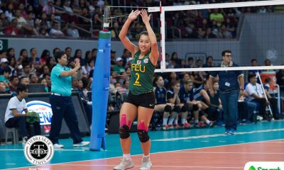 Philippine Sports News - Tiebreaker Times Bernadeth Pons doesn't mind ending career without award FEU News UAAP Volleyball  UAAP Season 80 Women's Volleyball UAAP Season 80 FEU Women's Volleyball Bernadeth Pons