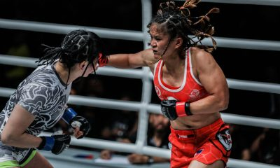 Tiebreaker Times Avenging April Osenio was not in Gina Iniong's mind: 'Kailangan ko bumawi sa last na laban ko' Mixed Martial Arts News ONE Championship  Team Lakay ONE: Heroes of Honor Gina Iniong