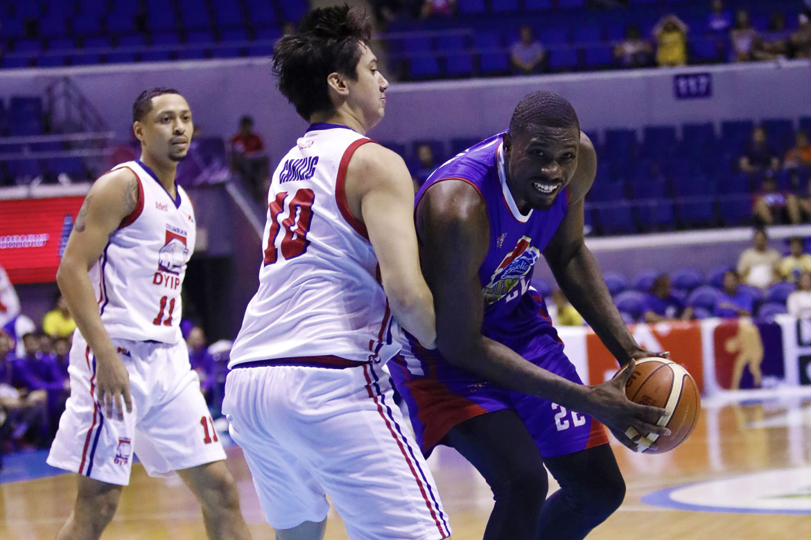 Tiebreaker Times Bittersweet feeling for the outgoing Vernon Macklin Basketball News PBA  Vernon Macklin PBA Season 43 Magnolia Hotshots 2018 PBA Commissioners Cup
