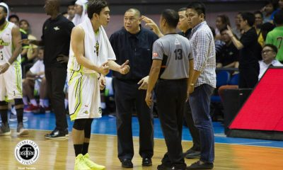 Philippine Sports News - Tiebreaker Times Good friends Ryan Araña, Beau Belga provide comedic relief in tension-filled game Basketball News PBA  Ryan Arana Rain or Shine Elasto Painters PBA Season 43 Globalport Batang Pier Beau Belga 2018 PBA Commissioners Cup