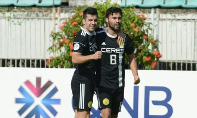 Tiebreaker Times Ceres-Negros overcomes Yangon United comeback, books spot in ASEAN Zone Final AFC Cup Football News  Yangon United Toni Doblas Risto Vidakovic Martin Steuble Manny Ott Ceres-Negros FC Bienvenido Marañon 2018 AFC Cup