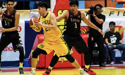 Philippine Sports News - Tiebreaker Times Arvin Tolentino lifts FEU to 2-0 record; Mapua stuns NU for share of Group A lead Basketball CSJL DLSU EAC FEU LPU MIT News NU SSC-R UE  Yancy Remulla Warren Bonifacio UE Men's Basketball San Sebastian Seniors Basketball Richard Escoto Philip Manalang Olsen Racela NU Men's Basketball Miggy Corteza Mapua Seniors Basketball Letran Seniors Basketball JV Gallego JP Maguliano Joe Silva Jeff Napa Jamike Jarin FEU Men's Basketball EAC Seniors Basketball Cedric Pelayo Bong Quinto Atoy Co Arvin Tolentino Ariel Sison Alvin Pasaol 2018 Filoil Premier Cup