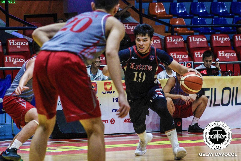 2018-filoil-preseason-cup-csjl-def-lpu-bong-quinto FEU remains unblemished; Letran outmuscles Lyceum Basketball CSJL EAC FEU JRU LPU News NU  - philippine sports news