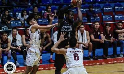 Philippine Sports News - Tiebreaker Times Seeing Altas rejuvenated makes Bright Akhuetie at peace Basketball News UP UPHSD  UP Men's Basketball Perpetual Seniors Basketball Bright Akhuetie 2018 Filoil Premier Cup