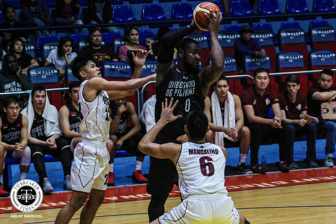 Tiebreaker Times Seeing Altas rejuvenated makes Bright Akhuetie at peace Basketball News UP UPHSD  UP Men's Basketball Perpetual Seniors Basketball Bright Akhuetie 2018 Filoil Premier Cup