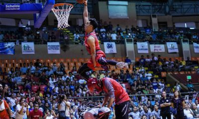 Tiebreaker Times Rey Guevarra amazes, wins fourth Slam Dunk title Basketball News PBA  Rey Guevarra Renz Palma Matt Ganuelas-Rosser Marion Magat Lervin Flores Chris Newsome 2018 PBA All-Star Game