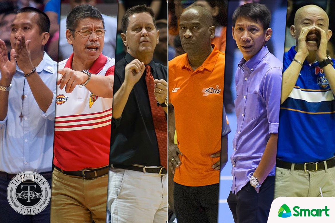 Tiebreaker Times MVP Group tacticians to coach SMART All-Stars Basketball News PBA  Yeng Guiao Norman Black Nash Racela 2018 PBA All-Star Game