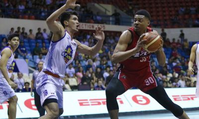 Tiebreaker Times Antonio Campbell on Vic Manuel: 'I know that's Calvin Abueva's name but Vic is a beast' Basketball News PBA  Vic Manuel PBA Season 43 Antonio Campbell Alex Compton Alaska Aces 2018 PBA Commissioners Cup