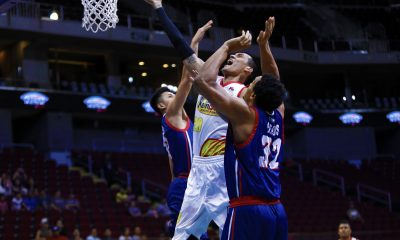 Philippine Sports News - Tiebreaker Times Raymond Almazan's worst fears come true Basketball News PBA  Raymond Almazan Rain or Shine Elasto Painters PBA Season 43 2018 PBA Commissioners Cup