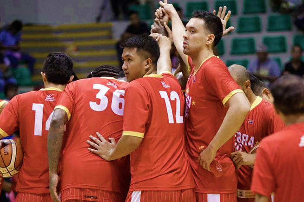 Tiebreaker Times Greg Slaughter puts in the work, in best shape of career Basketball News PBA  Tim Cone PBA Season 44 Greg Slaughter Barangay Ginebra San Miguel 2019 PBA Governors Cup