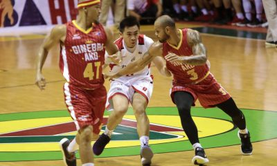 Philippine Sports News - Tiebreaker Times After six years, Paul Zamar finally makes his PBA debut Basketball News PBA  PBA Season 43 Paul Zamar Blackwater Elite 2018 PBA Commissioners Cup