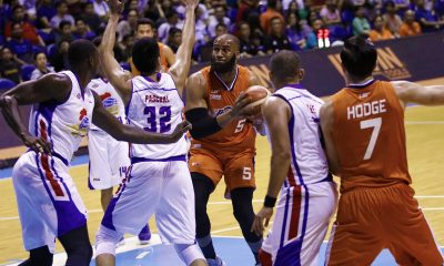 Tiebreaker Times Norman Black rues Arinze Onuaku's horrid FT shooting game: 'That was our sour aspect' Basketball News PBA  PBA Season 43 Norman Black Meralco Bolts Arinze Onuaku 2018 PBA Commissioners Cup