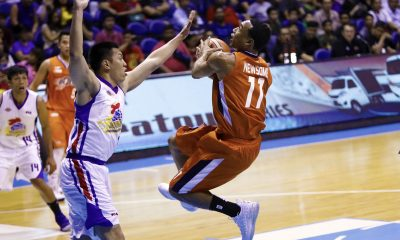 Philippine Sports News - Tiebreaker Times Chris Newsome moves on after another end-game blunder Basketball News PBA  PBA Season 43 Meralco Bolts Chris Newsome 2018 PBA Commissioners Cup