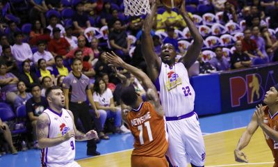Philippine Sports News - Tiebreaker Times Vernon Macklin leaves in style, sinks game-winning FTs to lift Hotshots past Bolts Basketball News PBA  Vernon Macklin PBA Season 43 Paul Lee Norman Black Meralco Bolts Mark Barroca Magnolia Hotshots Chris Newsome Chito Victolero Baser Amer Arinze Onuaku 2018 PBA Commissioners Cup