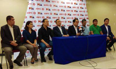 Philippine Sports News - Tiebreaker Times PBA gives P6M to POC News PBA POC/PSC  Willie Marcial Ricky Vargas PBA Season 43 2018 PBA Commissioners Cup