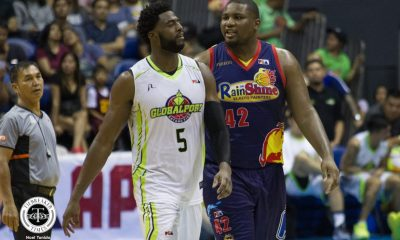 Tiebreaker Times Apologetic Malcolm White pleads: 'I'm not a dirty player, just physical' Basketball News PBA  PBA Season 43 Malcolm White Globalport Batang Pier 2018 PBA Commissioners Cup