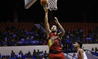 Philippine Sports News - Tiebreaker Times Christian Standhardinger says PBA game is like playing 'a different sport' Basketball News PBA  San Miguel Beermen PBA Season 43 Leo Austria Christian Standhardinger 2018 PBA Commissioners Cup