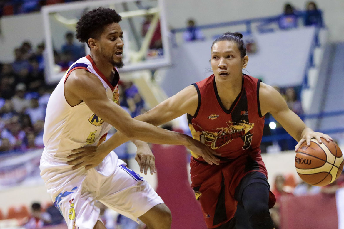 Tiebreaker Times Loss to Columbian tested Rain or Shine's character, says Gabe Norwood Basketball News PBA  Rain or Shine Elasto Painters PBA Season 43 Gabe Norwood 2018 PBA Commissioners Cup