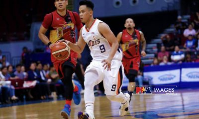 Philippine Sports News - Tiebreaker Times After a long while, Baser Amer shines bright once more Basketball News PBA  PBA Season 43 Meralco Bolts Baser Amer 2018 PBA Commissioners Cup