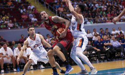 Philippine Sports News - Tiebreaker Times After lackadaisical debut, Christian Standhardinger looks to adjust Basketball News PBA  San Miguel Beermen PBA Season 43 Christian Standhardinger 2018 PBA Commissioners Cup