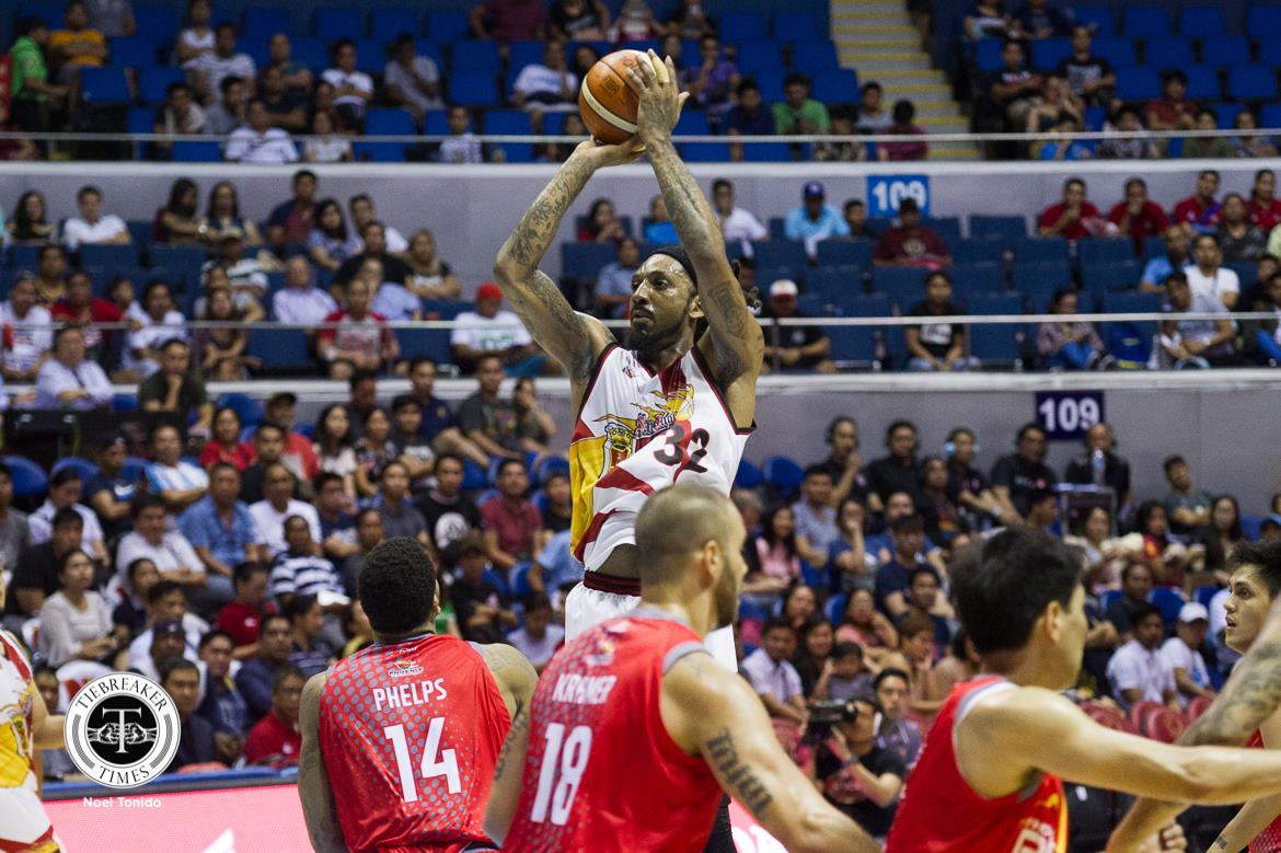 Tiebreaker Times Renaldo Balkman, San Miguel rise above Phoenix for first win Basketball News PBA  San Miguel Beermen Renaldo Balkman Phoenix Fuel Masters PBA Season 43 Matthew Wright Marcio Lassiter Louie Alas Leo Austria Eugene Phelps Christian Standhardinger Arwind Santos Alex Cabagnot 2018 PBA Commissioners Cup