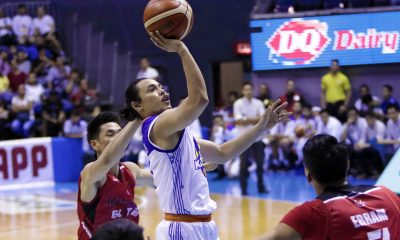 Philippine Sports News - Tiebreaker Times Terrence Romeo plays it cool even after spraining ankle Basketball News PBA  TNT Katropa Terrence Romeo PBA Season 43 2018 PBA Commissioners Cup