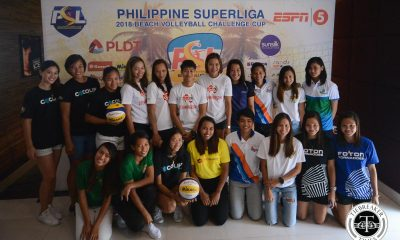 Philippine Sports News - Tiebreaker Times Cherry Rondina, Bernadeth Pons face stacked field in PSL Beach Volley tiff Beach Volleyball News PSL  Sta. Lucia Lady Realtors Rap Aguilar Petron Blaze Spikers Patty Orendain Nieza Viray Nene Bautista Mylene Paat Jeziela Viray Jackie Estoquia Generika-Ayala Lifesavers Foton Tornadoes Fiolla Ceballos DM Demontano Danika Gendrauli Cocolife Asset Managers Cignal HD Spikers Cherry Rondina Bernadeth Pons 2018 PVL Season 2018 PSL Beach Volleyball Challenge Cup