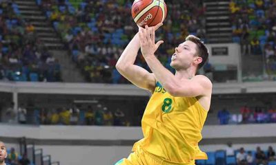 Tiebreaker Times Matthew Dellavedova, Thon Maker load up already-stacked Boomers for third window 2019 FIBA World Cup Qualifiers Basketball News  Thon Maker Nick Kay Nathan Sobey Mitch McCarron Matthew Dellavedova Kevin Lisch Jesse Wagstaff Jason Cadee Daniel Kickert Chris Goulding Cameron Gliddon Australia (Basketball) Angus Brandt Andrej Lemanis 2019 FIBA World Cup Qualifiers Group B 2019 FIBA World Cup Qualifiers