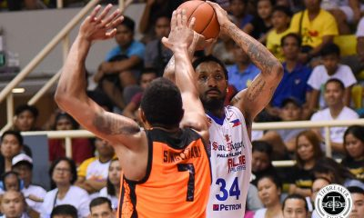 Philippine Sports News - Tiebreaker Times Renaldo Balkman to make much-awaited return to San Miguel Basketball News PBA  San Miguel Beermen Renaldo Balkman PBA Season 43 2018 PBA Commissioners Cup