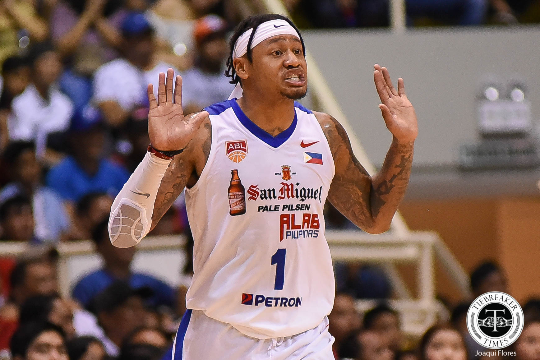 Philippine Sports News - Tiebreaker Times Ray Parks, Jr. slams MPBL rule on Fil-foreigners Basketball MPBL News  Mandaluyong El Tigre Bobby Ray Parks Jr. 2018 MPBL Season