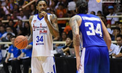 Philippine Sports News - Tiebreaker Times Christian Standhardinger welcomes addition of former ABL rival Renaldo Balkman Basketball News PBA  Renaldo Balkman PBA Season 43 Christian Standhardinger 2018 PBA Commissioners Cup