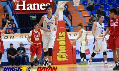 Philippine Sports News - Tiebreaker Times Joe Silva experiences what it feels like to face Kai Sotto Basketball Gilas Pilipinas News UE  UE Men's Basketball Kai Sotto Joe Silva Gilas Cadets 2018 Filoil Premier Cup