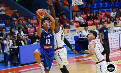 Tiebreaker Times Carl Tamayo doubtful for U18 Asian Championship Basketball Gilas Pilipinas News  Carl Tamayo Batang Gilas 2018 FIBA Under-18 Asian Championship