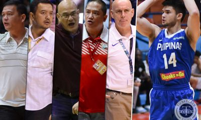 Philippine Sports News - Tiebreaker Times Should Kobe Paras return to college? Basketball Gilas Pilipinas News  Tab Baldwin Louie Gonzalez Kobe Paras Gilas Cadets Frankie Lim Boyet Fernandez Bo Perasol 2018 Filoil Premier Cup