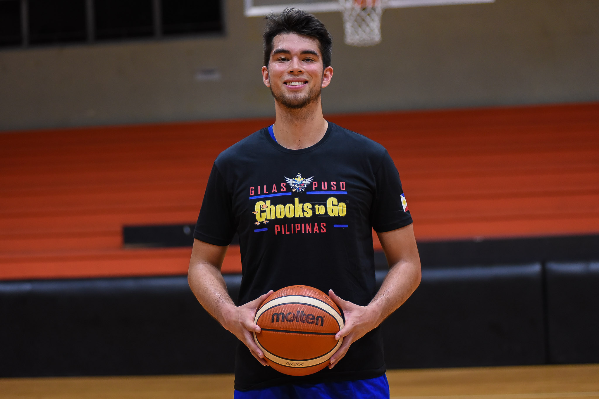 Gilas Practice – Troy Rike